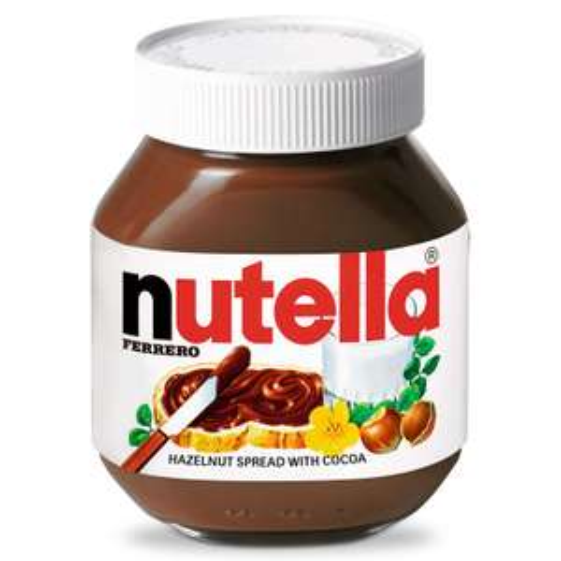 Nutella Hazelnut Spread 750g £3.79 B&M