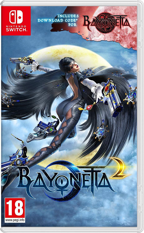 Bayonetta 2 - Inc. Bayonetta 1 Download Code (Nintendo Switch) £34.99 Delivered @ Amazon