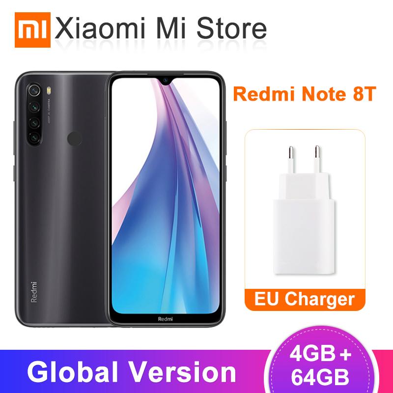 Global Version Xiaomi Redmi Note 8T 4GB RAM 64GB ROM NFC 48MP Quad Rear Camera Snapdragon 665 for £124.53 @ ALi Express Deal / Xiaomi Store