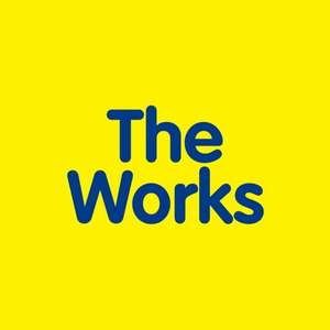 25% off with Voucher Code @ The Works