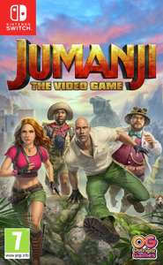 Jumanji Welcome to the Jungle Blu ray - FREE when you buy Jumanji: The Video Game @ Argos - £29.99