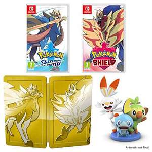 Pokémon Sword and Shield Double Pack in stock @ ShopTo - £99.85