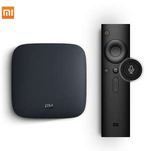 Xiaomi Mi TV Box 3 with Voice Remote - 4K Media Player - Android TV - £36.68 @ Xiaomi MC Store / AliExpress (£34.30 with new user code)
