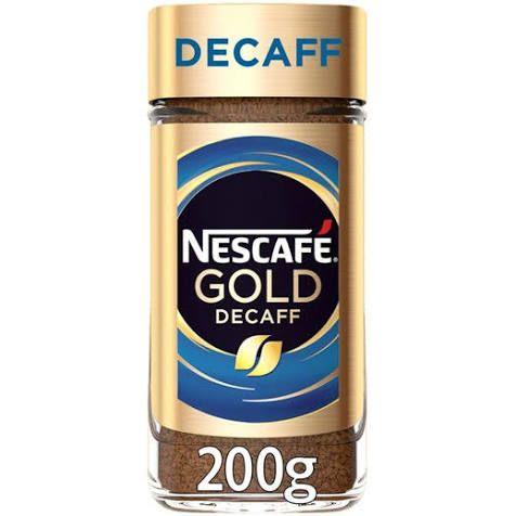 Nescafé Gold Blend Decaff Instant Coffee 200g £4 @ Sainsbury's )