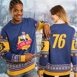 Fallout 76 Christmas Jumper now £9.99 with free UK delivery @ Geekstore