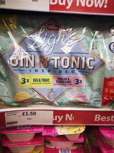 Muller light Gin & Tonic yogurts x6 £1.50 @ Heron Foods (Wythenshawe)