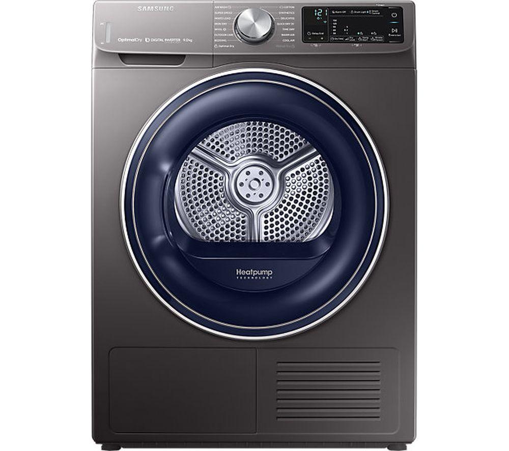SAMSUNG DV90N62632X Smart 9 kg Heat Pump Tumble Dryer - Graphite £701.10 @ Currys