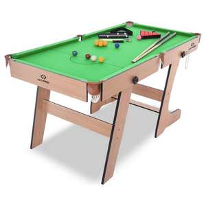 Hy-Pro 5ft Folding Snooker and Pool Table at Argos for £69.99