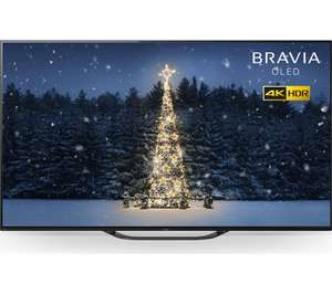 "Sony Bravia KD55AG8 (2019) OLED HDR 4K Ultra HD Smart Android TV, 55"" with Freeview HD, Youview, 5 Year Guarantee £1,219 at Hughes"
