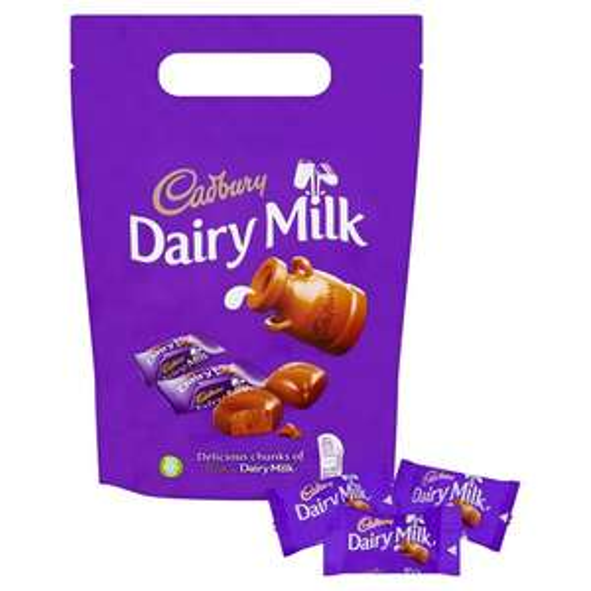 Cadbury Chunks Pouch 380G / Cadbury Dairy Milk Wholenut Pouch 350G / Toblerone Chocolate Pieces 340G £2.50 @ Tesco