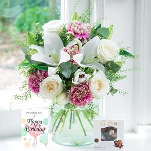 15% off plus Free Delivery with Voucher Code @ Blossoming Gifts