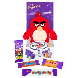 Cadbury Angry Birds Plush Toy & Cadbury Assorted Chocolate Bars for £2.50 @ Morrisons