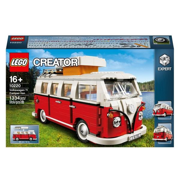 LEGO 10220 Creator Expert Volkswagen T1 Camper Van Construction Toy for £67.99 delivered at Smyths