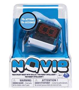 Novie Interactive Smart Robot with Over 75 Actions and Learns 12 Tricks - Blue or Red £16 prime / £20.49 non prime @ Amazon