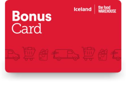 Free £5 spending on Iceland Bonus Card (email invite)