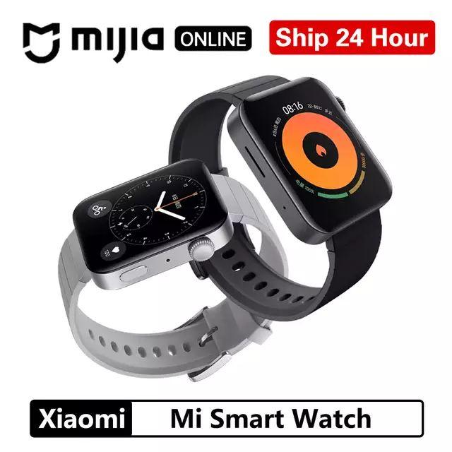 New Release - Xiaomi Mi Smartwatch GPS - E-SIM - NFC - WIFI £157.78 Silver & Black (£145 With Code) @ MIJIA ONLINE Store/Aliexpress