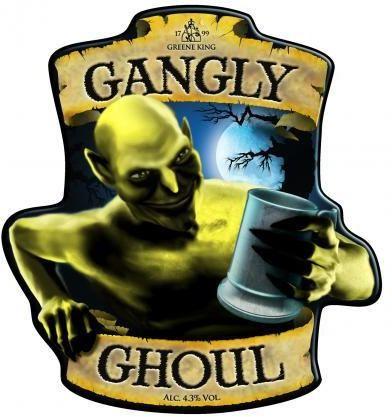 Greene King Gangly Ghoul Ale 500ml bottle - 50p @ Aldi instore