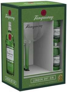 Tanqueray London Dry Gin with Copa Glass Gift Set, 2 x 5 cl £3.50 @CO-OP Pitlochry