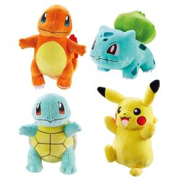 Pokémon 20cm Plush 4 Pack £29.99 @ Smyths