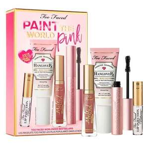 Too Faced Paint the World Pink Set (worth £79) Now £35 click & collect @ Boots
