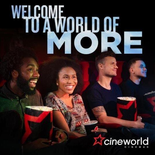 Cineworld Edinburgh Tickets @ £3.00pp