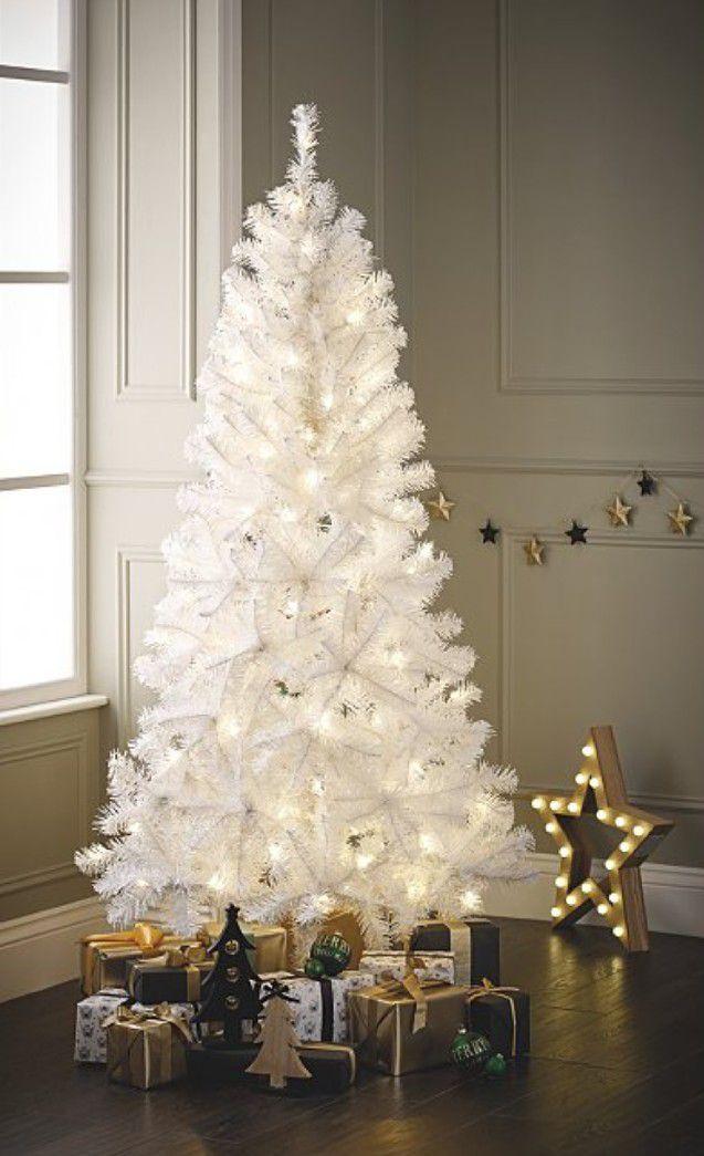 6ft white pre lit led Christmas tree £25 @ George (Asda)