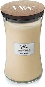 WoodWick Large Hourglass Scented Candle, Vanilla Bean £11.71 + £4.49 Non Prime @ Amazon