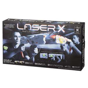 Laser X 88042 Morph Double Pack £16 + £4.49 delivery Non Prime @ Amazon