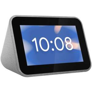 """Lenovo Smart Clock with Google Assistant - 4"""" Screen - £39 delivered @ AO 2 year warranty - 100 days returns"""