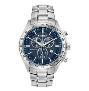Citizen Men's Eco-Drive Stainless Steel Bracelet Watch AT2410-52L £124.99 at Argos