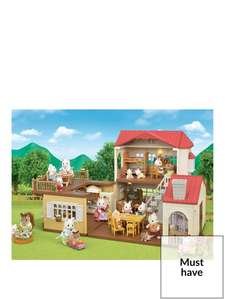 Sylvanian Families Red Roof Country Home Gift Set Now £49.99 + free Click and Collect @ Very