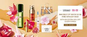 Up to an Extra 20% off Beauty with Voucher Code @ Unineed