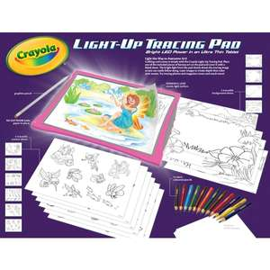 Crayola Light Up Tracing Pad £12.49 Smyths