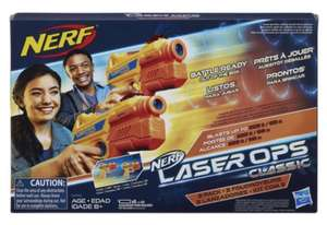 Nerf Laser Ops Classic - 2 pack now £12.50 at The Entertainer) Deals