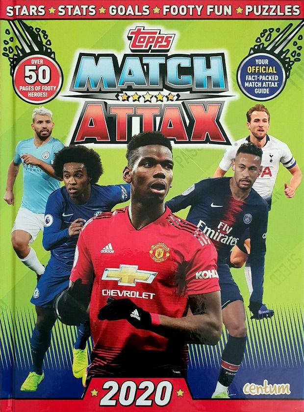 Topps Match Attax 2020 Annual £1 instore @ Poundland