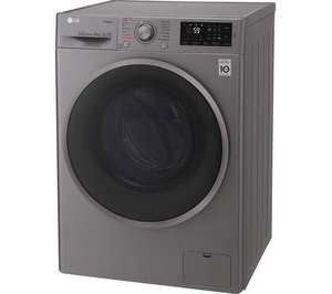 LG Steam™ 10Kg 1400 Spin Washing Machine F4J610SS + 5 Year Guarantee - Graphite / White £384 delivered with code @ Currys