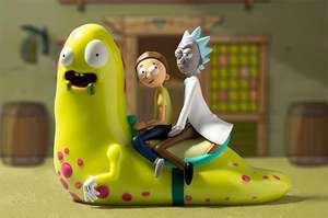 10% off Collectables + 30% off Cushions & Clothing All Rick and Morty with Voucher code @ Zavvi