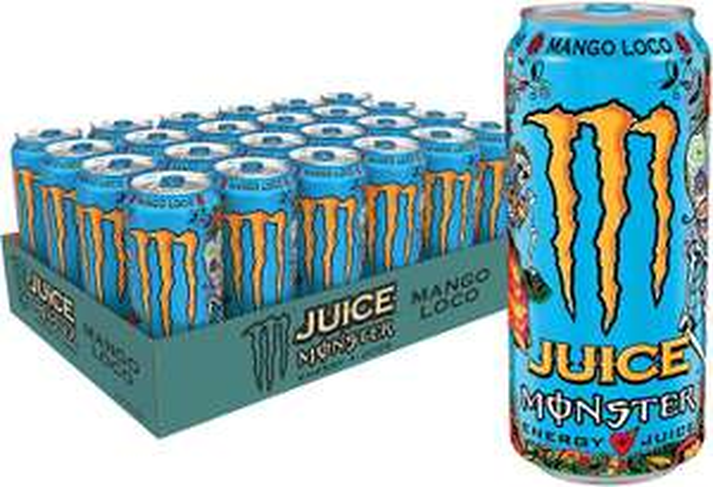 Monster Energy Mango Loco Energy Juice 473 ml x 18 for £50.05 @ Amazon