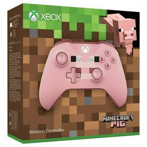 Official Xbox Wireless Controller - Minecraft Pig £39.99 The Game Collection ebay