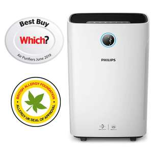 Philips Series 3000i 2-in-1 Purifier & Humidifier AC3829/60, Plastic, 1 W, White £374.99 Amazon