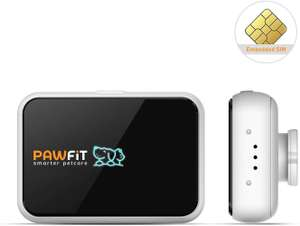 Pawfit Dog GPS Tracker & Activity Monitor with inbuilt SIM card for £39.99 delivered (using voucher on page) @ Amazon / Upoint