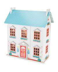 Wooden Dolls House @ £29.99 Aldi (Free delivery) also available in store.