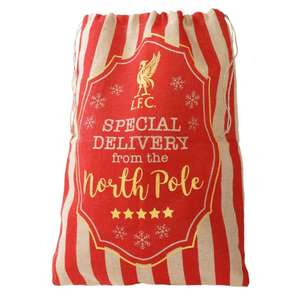 LFC Special Delivery Christmas Sack £6 + £4.99 delivery at Liverpool FC store