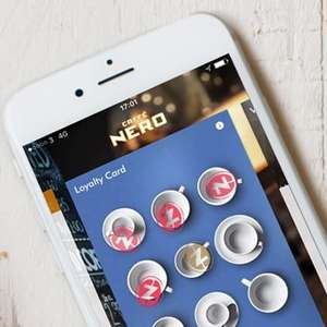 Free cafe Nero hot drink including festive drinks via link in bio for all Nero app holders