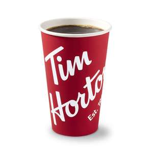 Free small drink @ Tim Hortons (Bury - New Road Manchester)