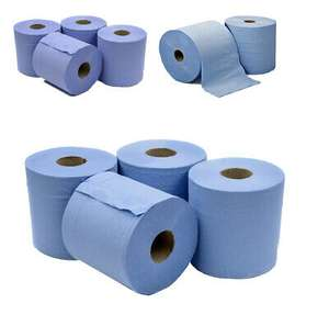 6 x Jumbo Workshop Hand Towels Rolls 2 Ply Centre Feed £8.49 @ eBay/thinkprice