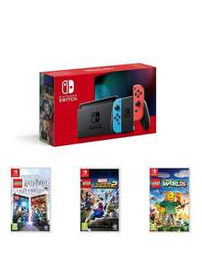 Nintendo Switch + LEGO Harry Potter Collection, LEGO Marvel Superheroes 2 and LEGO Worlds £329.99 @ Very (£304.99 via Buy Now Pay Later)