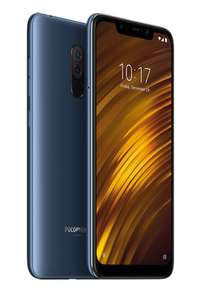 Xiaomi Pocophone F1 6GB/128GB Dual Sim (Global Version) Blue - £181.06 (£177.75 New Customers) @ Xiaomi Mi Store/Aliexpress Deals