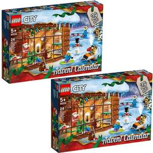 LEGO City Advent Calendar 60235 Twin Pack - £21.43 after code @ Jadlam Toys & Models