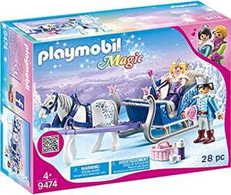 PLAYMOBIL 9474 Magic Sleigh with Royal Couple £7.50 (+£4.49 Non Prime) @ Amazon
